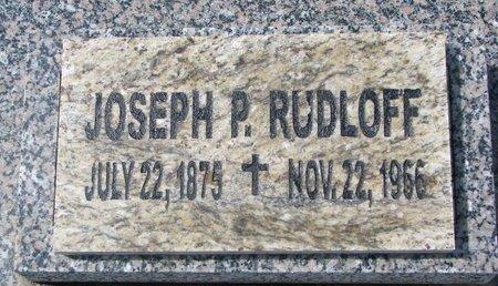 RUDLOFF, JOSEPH P. - Knox County, Nebraska | JOSEPH P. RUDLOFF - Nebraska Gravestone Photos