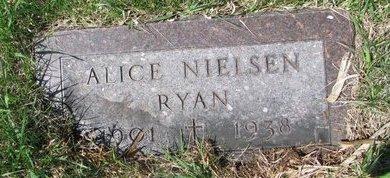 RYAN, ALICE - Knox County, Nebraska   ALICE RYAN - Nebraska Gravestone Photos