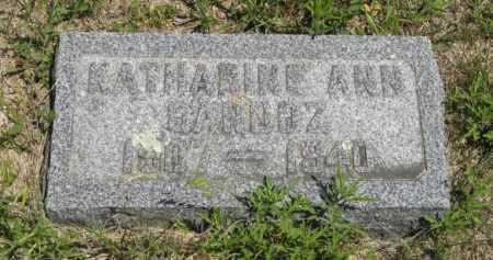 SANDOZ, KATHARINE ANN - Knox County, Nebraska | KATHARINE ANN SANDOZ - Nebraska Gravestone Photos