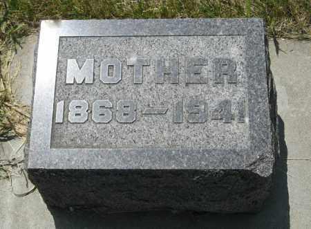 SANDSTROM, MOTHER - Knox County, Nebraska   MOTHER SANDSTROM - Nebraska Gravestone Photos