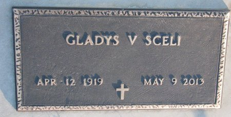 SCELI, GLADYS VIOLA - Knox County, Nebraska | GLADYS VIOLA SCELI - Nebraska Gravestone Photos