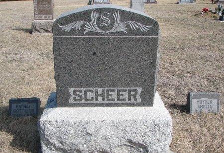 *SCHEER, FAMILY PLOT - Knox County, Nebraska   FAMILY PLOT *SCHEER - Nebraska Gravestone Photos