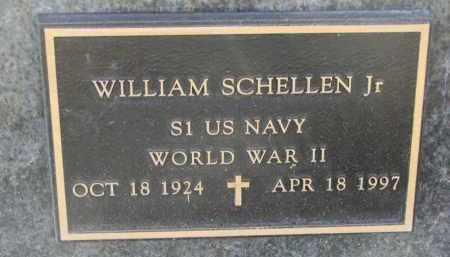 SCHELLEN, WILLIAM JR. - Knox County, Nebraska | WILLIAM JR. SCHELLEN - Nebraska Gravestone Photos