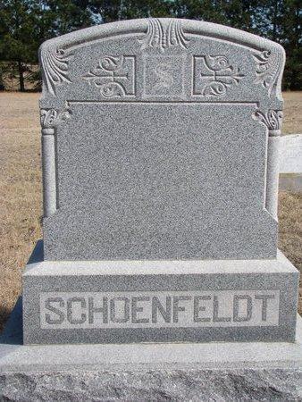 *SCHOENFELDT, FAMILY MONUMENT - Knox County, Nebraska | FAMILY MONUMENT *SCHOENFELDT - Nebraska Gravestone Photos