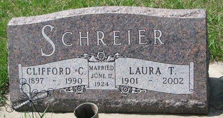 SCHREIER, CLIFFORD C. - Knox County, Nebraska | CLIFFORD C. SCHREIER - Nebraska Gravestone Photos