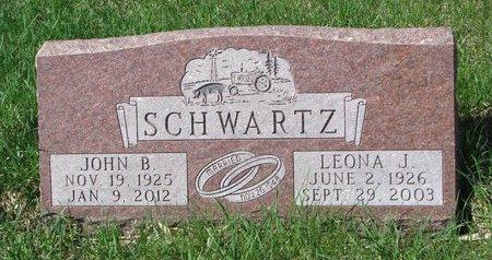 SCHWARTZ, JOHN B. - Knox County, Nebraska | JOHN B. SCHWARTZ - Nebraska Gravestone Photos