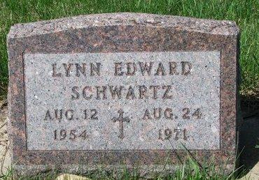 SCHWARTZ, LYNN EDWARD - Knox County, Nebraska | LYNN EDWARD SCHWARTZ - Nebraska Gravestone Photos