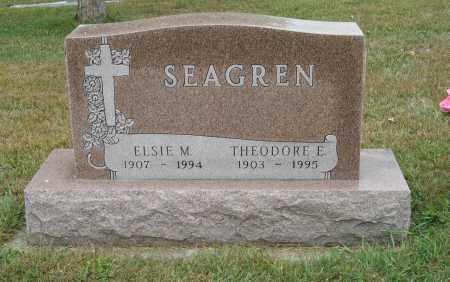 SEAGREN, THEODORE E. - Knox County, Nebraska   THEODORE E. SEAGREN - Nebraska Gravestone Photos