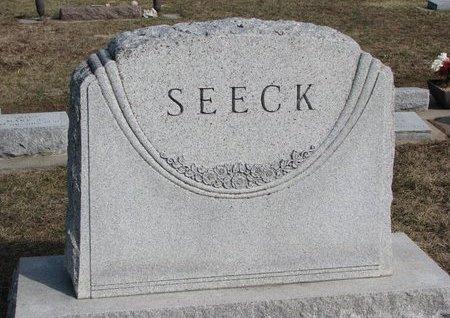 SEECK, *FAMILY MONUMENT - Knox County, Nebraska | *FAMILY MONUMENT SEECK - Nebraska Gravestone Photos