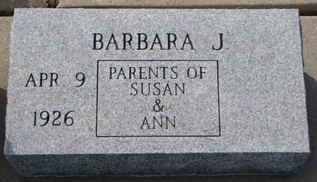 SEECK, BARBARA J. - Knox County, Nebraska | BARBARA J. SEECK - Nebraska Gravestone Photos