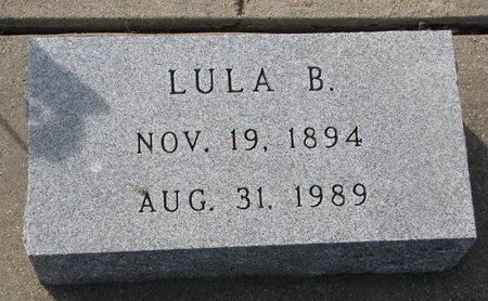 SEECK, LULA B. - Knox County, Nebraska | LULA B. SEECK - Nebraska Gravestone Photos