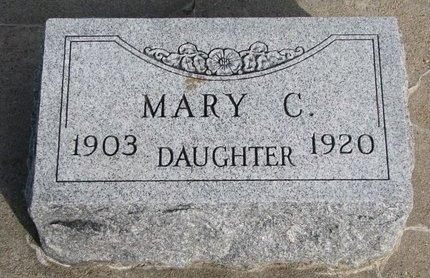 SEECK, MARY C. - Knox County, Nebraska | MARY C. SEECK - Nebraska Gravestone Photos