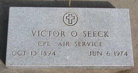 SEECK, VICTOR O. - Knox County, Nebraska   VICTOR O. SEECK - Nebraska Gravestone Photos