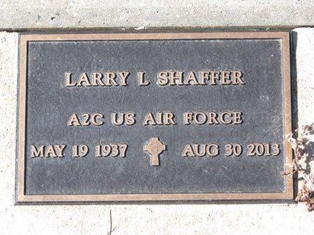 SHAFFER, LARRY L. (MILITARY) - Knox County, Nebraska   LARRY L. (MILITARY) SHAFFER - Nebraska Gravestone Photos