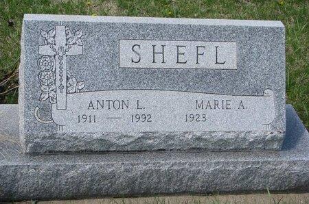 SHEFL, ANTON L. - Knox County, Nebraska   ANTON L. SHEFL - Nebraska Gravestone Photos