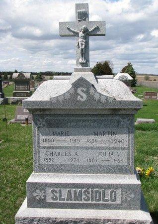 SLAMSIDLO, MARTIN - Knox County, Nebraska | MARTIN SLAMSIDLO - Nebraska Gravestone Photos