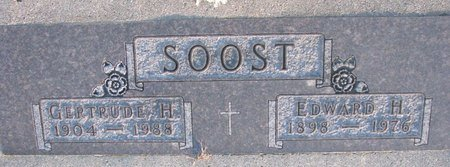 SOOST, GERTRUDE H. - Knox County, Nebraska   GERTRUDE H. SOOST - Nebraska Gravestone Photos