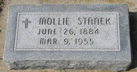STANEK, MOLLIE - Knox County, Nebraska   MOLLIE STANEK - Nebraska Gravestone Photos