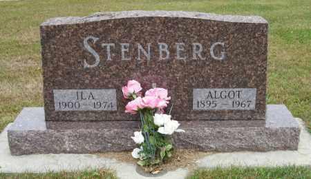 STENBERG, ALGOT - Knox County, Nebraska | ALGOT STENBERG - Nebraska Gravestone Photos