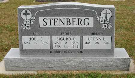 STENBERG, SIGURD G. - Knox County, Nebraska | SIGURD G. STENBERG - Nebraska Gravestone Photos