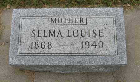 STENBERG, SELMA LOUISE - Knox County, Nebraska | SELMA LOUISE STENBERG - Nebraska Gravestone Photos