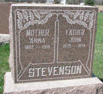 STEVENSON, JOHN - Knox County, Nebraska | JOHN STEVENSON - Nebraska Gravestone Photos