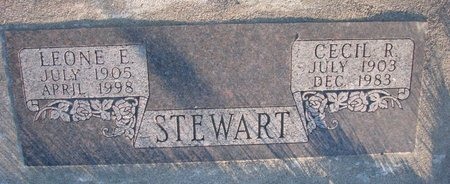 STEWART, LEONE E. - Knox County, Nebraska | LEONE E. STEWART - Nebraska Gravestone Photos