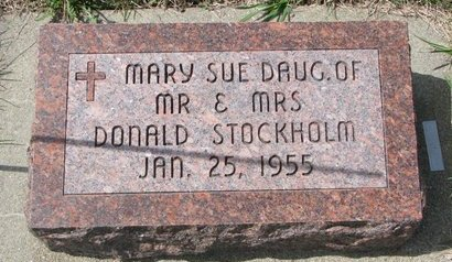 STOCKHOLM, MARY SUE - Knox County, Nebraska   MARY SUE STOCKHOLM - Nebraska Gravestone Photos