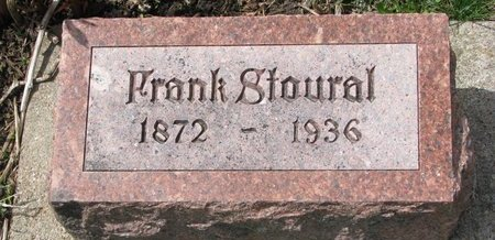STOURAL, FRANK - Knox County, Nebraska | FRANK STOURAL - Nebraska Gravestone Photos