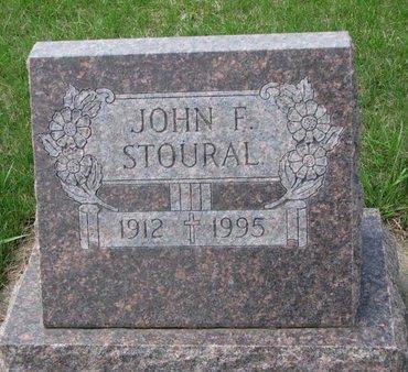 STOURAL, JOHN F. - Knox County, Nebraska | JOHN F. STOURAL - Nebraska Gravestone Photos
