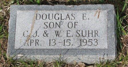 SUHR, DOUGLAS E. - Knox County, Nebraska | DOUGLAS E. SUHR - Nebraska Gravestone Photos