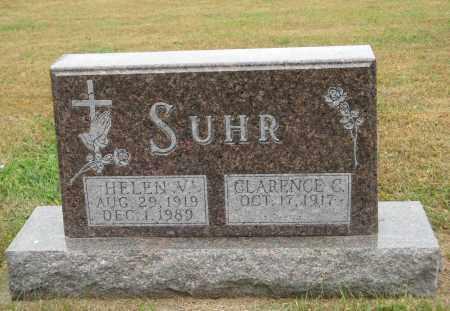 SUHR, HELEN V. - Knox County, Nebraska | HELEN V. SUHR - Nebraska Gravestone Photos