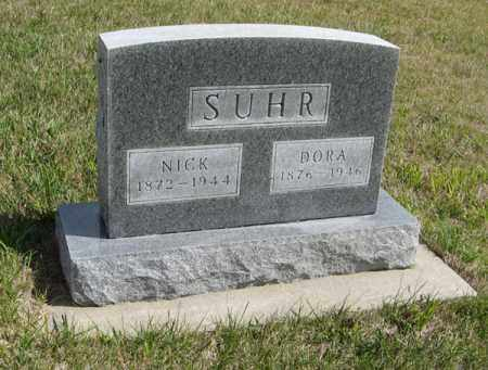 SUHR, DORA - Knox County, Nebraska   DORA SUHR - Nebraska Gravestone Photos