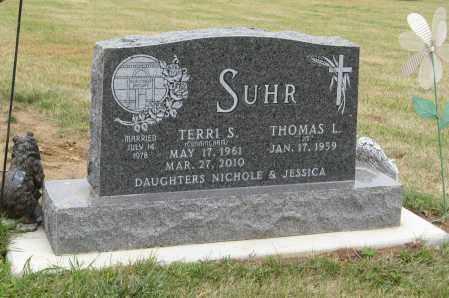 CUNNINGHAM SUHR, TERRI S. - Knox County, Nebraska | TERRI S. CUNNINGHAM SUHR - Nebraska Gravestone Photos