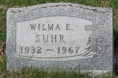 SUHR, WILMA E. - Knox County, Nebraska | WILMA E. SUHR - Nebraska Gravestone Photos