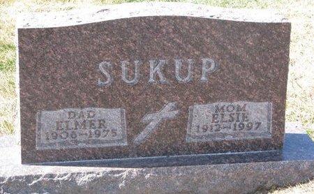 SUKUP, ELSIE - Knox County, Nebraska | ELSIE SUKUP - Nebraska Gravestone Photos
