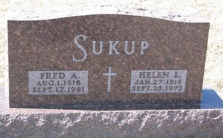 SUKUP, FRED A. - Knox County, Nebraska | FRED A. SUKUP - Nebraska Gravestone Photos