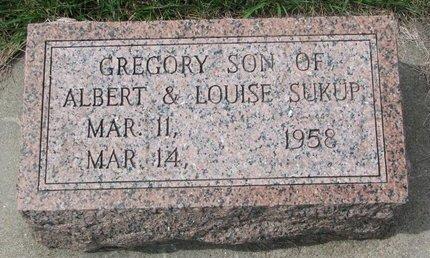 SUKUP, GREGORY - Knox County, Nebraska | GREGORY SUKUP - Nebraska Gravestone Photos