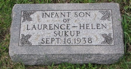 SUKUP, INFANT SON - Knox County, Nebraska | INFANT SON SUKUP - Nebraska Gravestone Photos