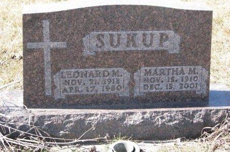 SUKUP, MARTHA M. - Knox County, Nebraska   MARTHA M. SUKUP - Nebraska Gravestone Photos