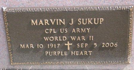 SUKUP, MARVIN J. (MILITARY) - Knox County, Nebraska | MARVIN J. (MILITARY) SUKUP - Nebraska Gravestone Photos