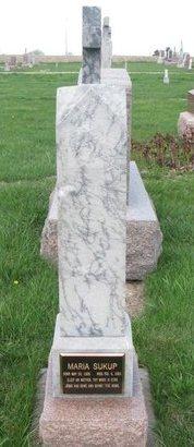 SUKUP, MARIA - Knox County, Nebraska | MARIA SUKUP - Nebraska Gravestone Photos