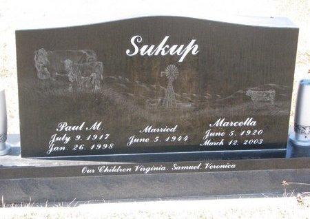 KOTROUS SUKUP, MARCELLA FRANCES - Knox County, Nebraska | MARCELLA FRANCES KOTROUS SUKUP - Nebraska Gravestone Photos