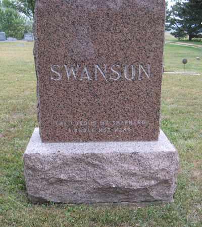 SWANSON, (FAMILY MONUMENT) - Knox County, Nebraska | (FAMILY MONUMENT) SWANSON - Nebraska Gravestone Photos