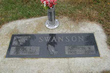 SWANSON, ANTHON W. - Knox County, Nebraska | ANTHON W. SWANSON - Nebraska Gravestone Photos