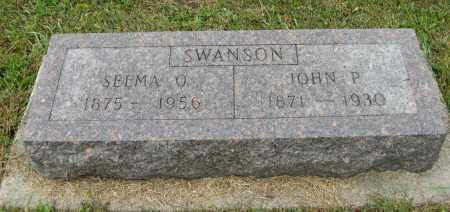 SWANSON, SELMA O. - Knox County, Nebraska | SELMA O. SWANSON - Nebraska Gravestone Photos