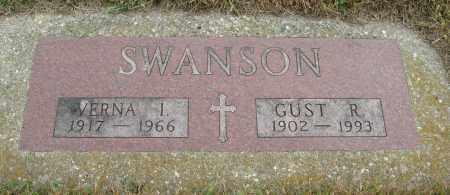 SWANSON, VERNA I. - Knox County, Nebraska | VERNA I. SWANSON - Nebraska Gravestone Photos