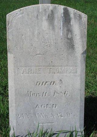 THOMPSON, ARNE - Knox County, Nebraska | ARNE THOMPSON - Nebraska Gravestone Photos