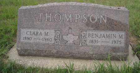 THOMPSON, BENJAMIN M. - Knox County, Nebraska | BENJAMIN M. THOMPSON - Nebraska Gravestone Photos