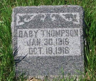 THOMPSON, BABY - Knox County, Nebraska | BABY THOMPSON - Nebraska Gravestone Photos